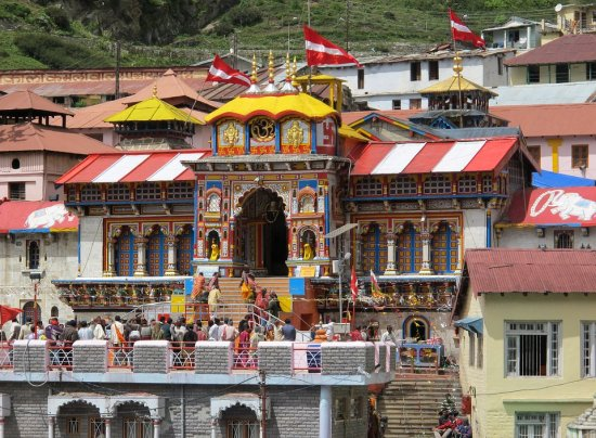Badrinath Temple Picture