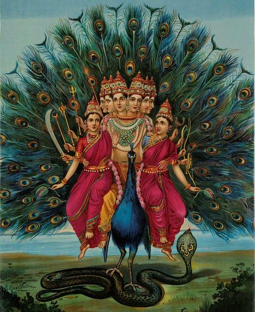 Lord Murugan Wives